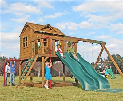 Creative Playthings Yorktown Swingset Package 1c This Ridgefield