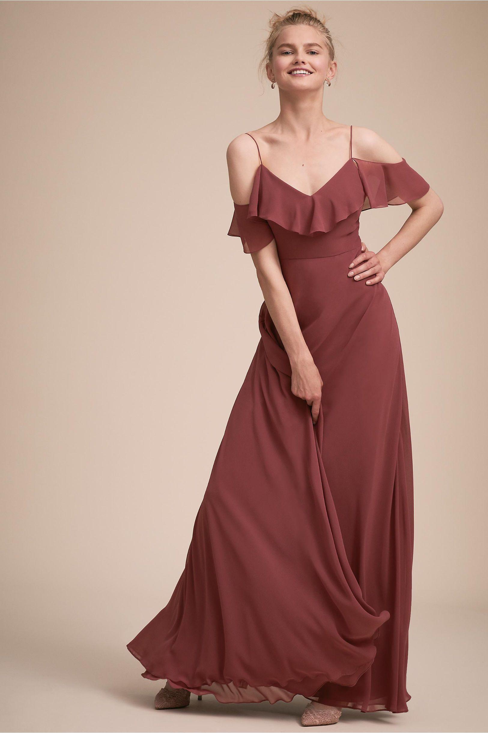 47e514448be23 BHLDN's Jenny Yoo Mila Dress in Cinnamon Rose | Shop the look ...