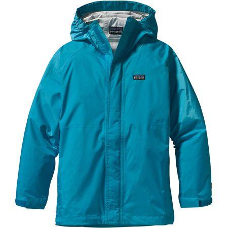 Patagonia Kids' Torrentshell Jacket Curacao