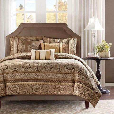 Mirage 6 Piece Quilted Coverlet Set
