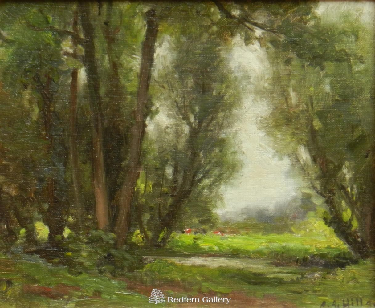 Anna A. Hills-Summer in Surry England