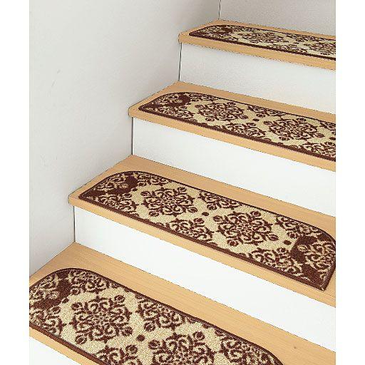 ディズニーの階段マット 滑り止め 静音効果 消臭機能付き 階段