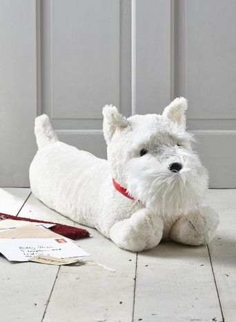 White Scottie dog draught excluder | Scotties | Pinterest | Dogs ...