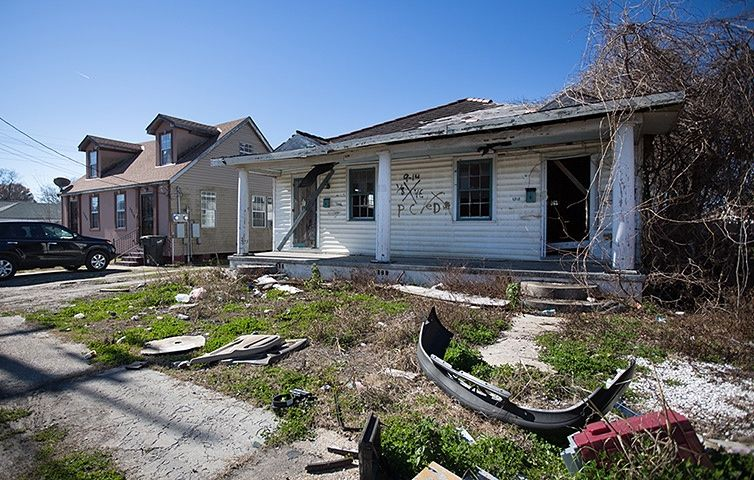 New Orleans's Lower Ninth ward in pictures New orleans