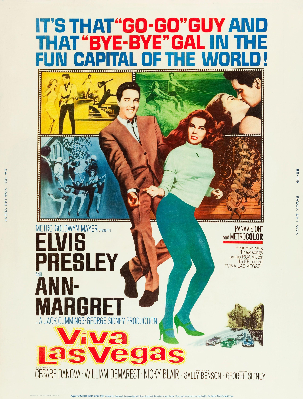ab9cda306e1bd Viva Las Vegas (1964), Elvis | Cult Movie Memorabilia | Vintage ...