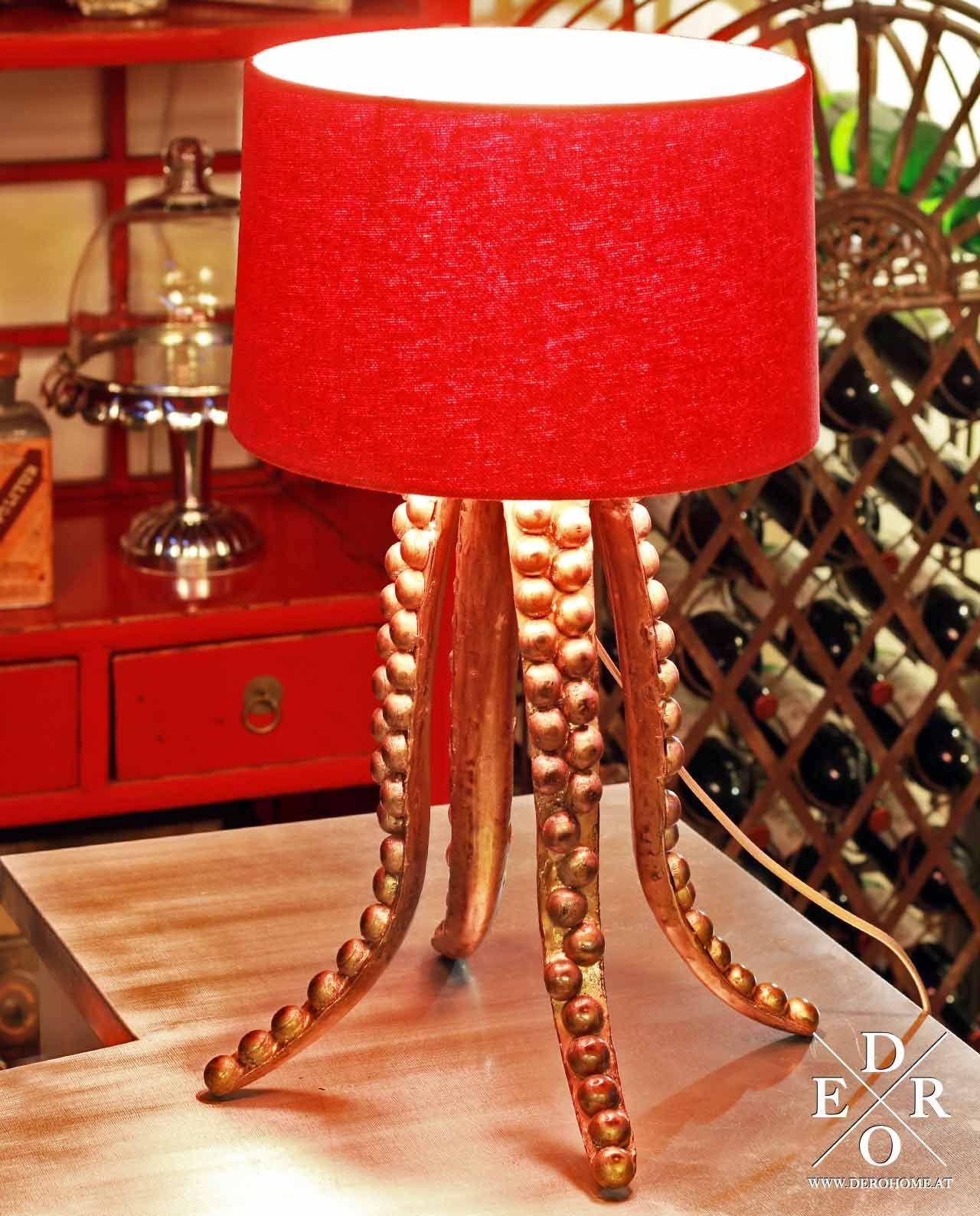 Maritime Stehleuchte Octopus Der Standfuss Erinnert An Die Tentakel Eine Krake Eines Der Erstaunlichsten Lebewesen Der Meere Kraken Octopus Lampe Krake