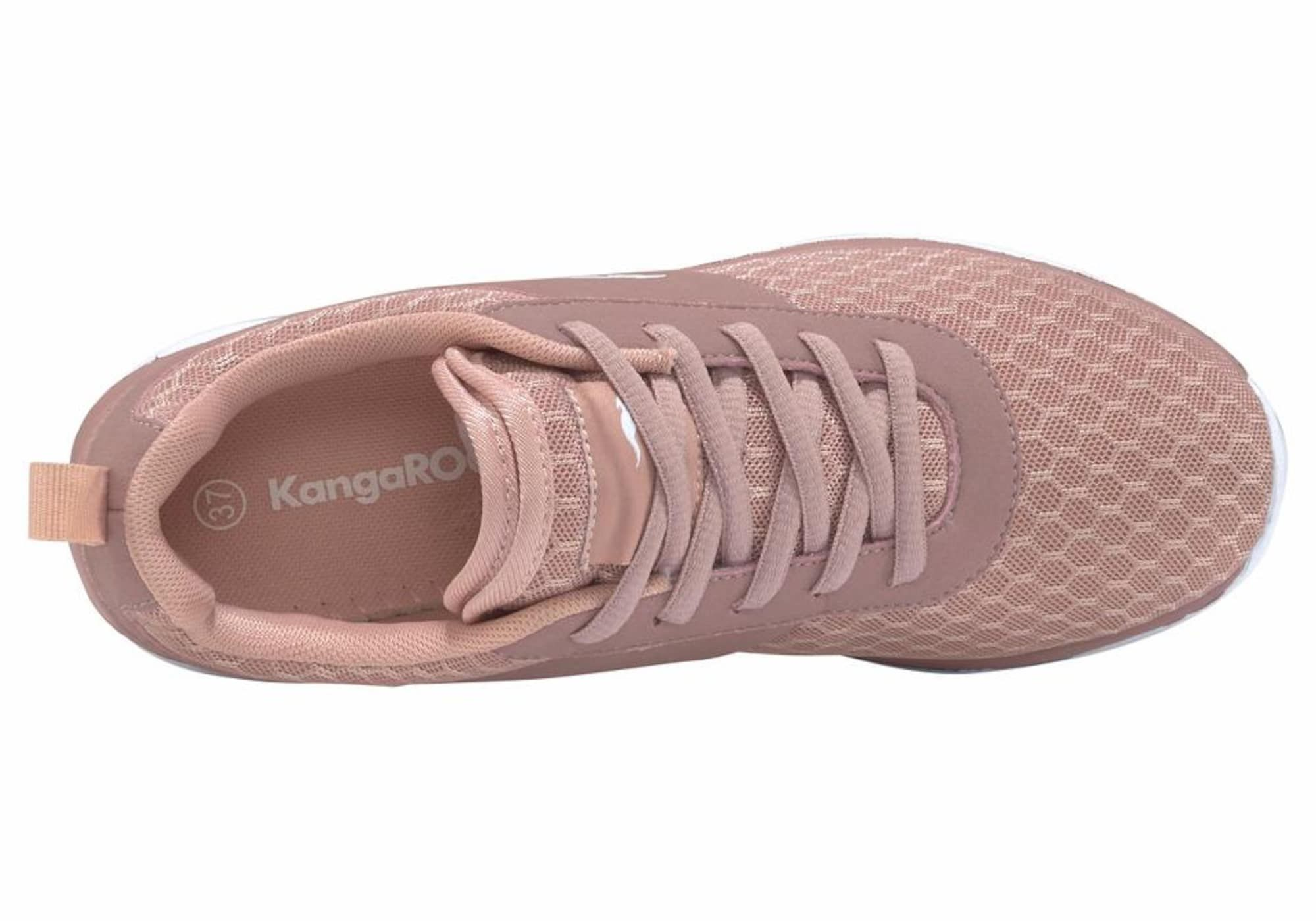 Kangaroos Sneaker Bumpy Damen Altrosa Weiss Grosse 38 Altrosa Rosa Und Damen