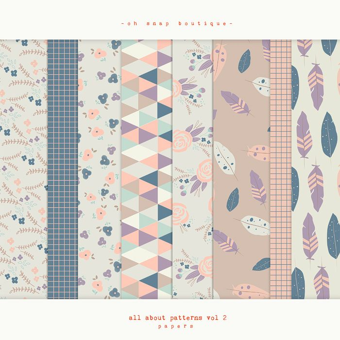 All About Pattern Papers vol2
