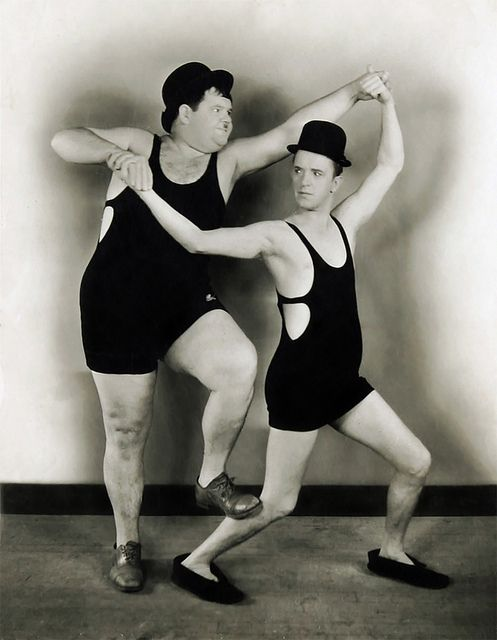 Laurel and Hardy by Vintage-Stars, via Flickr
