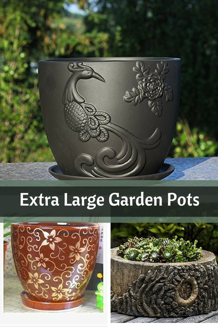 Large Garden Pots Extra Large Garden Pots Bloggers Meeting Zone Pinterest