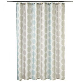 Zen Fabric Shower Curtain Kohl S Fabric Shower Curtains Zen