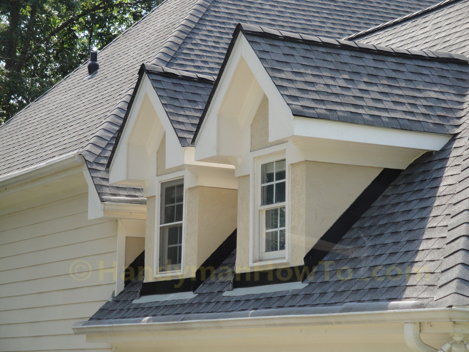 New roof installation dormer counter flashing dormers for New roof ideas