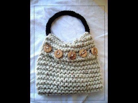 Egentlig en tutorial for hanken, men strikkeveska er lett, Mathilde kan lage! HOW TO CROCHET ROUND BAG HANDLES