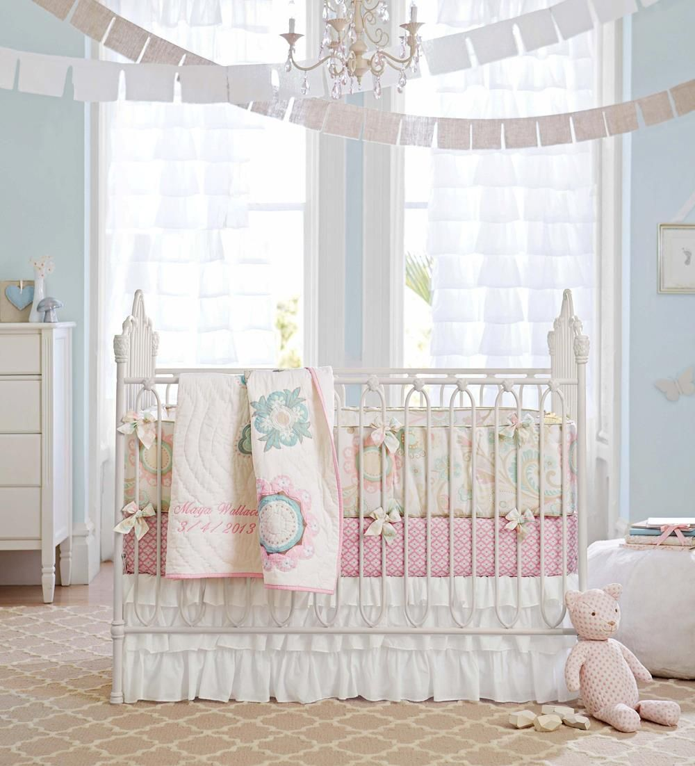 Love The Hanging Pennants Baby Girl Room Themes Iron