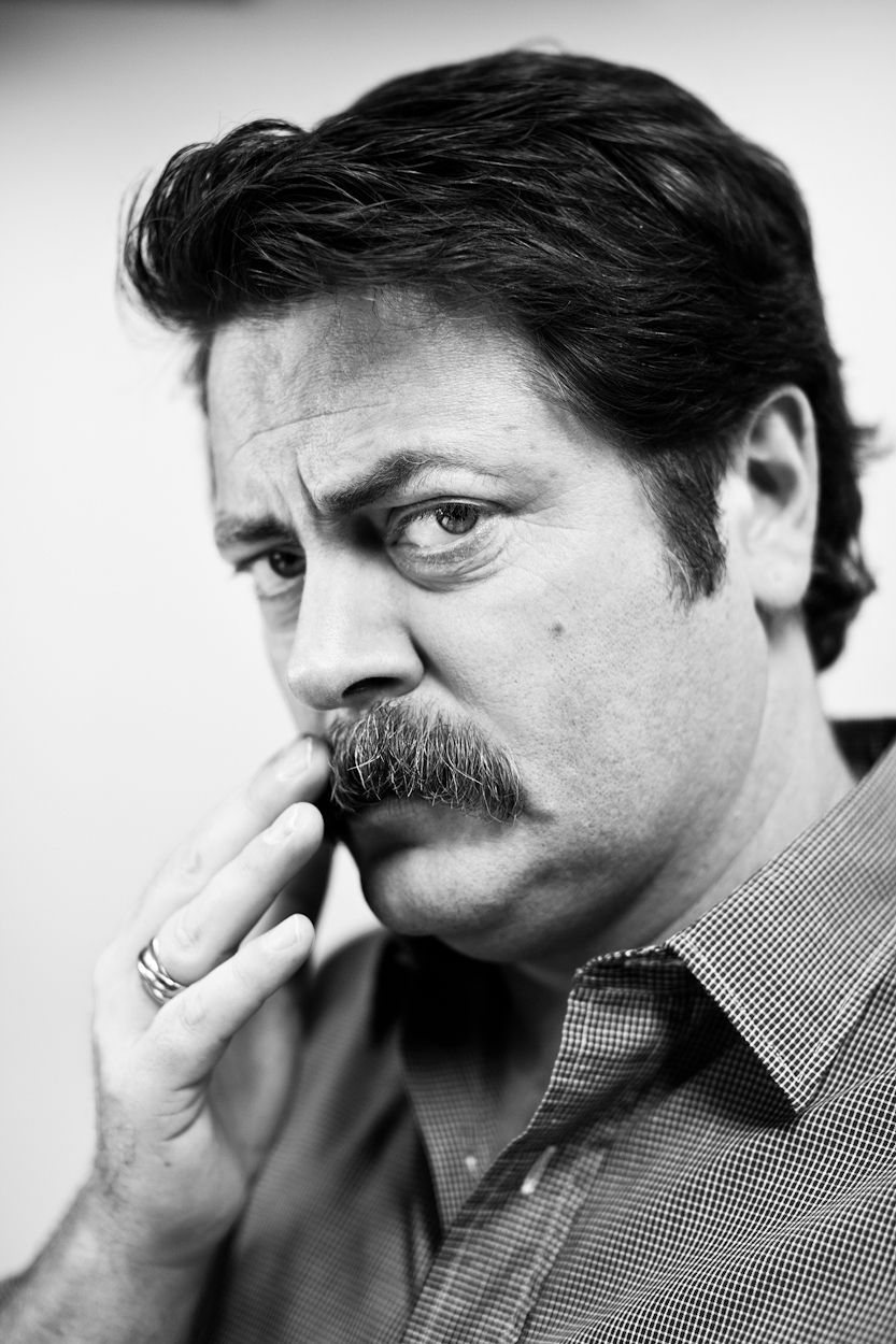 nick offerman new year