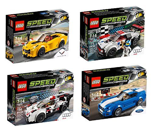 Lego New For Speed Champions Set Bundle Chevrolet