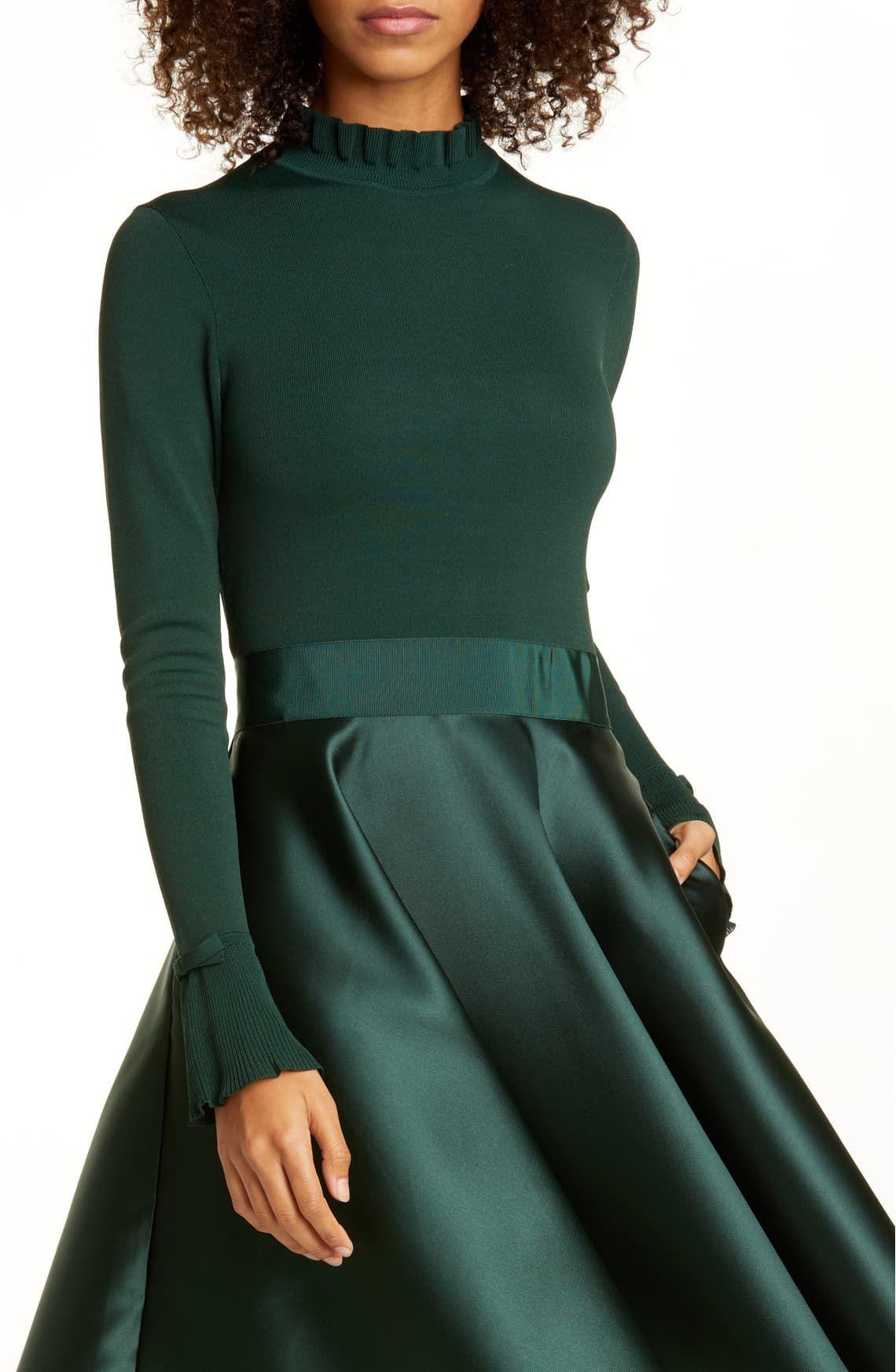 Ted Baker London Zadi Long Sleeve Fit Flare Dress Nordstrom Fit Flare Dress Dresses Nordstrom Dresses [ 1746 x 1140 Pixel ]