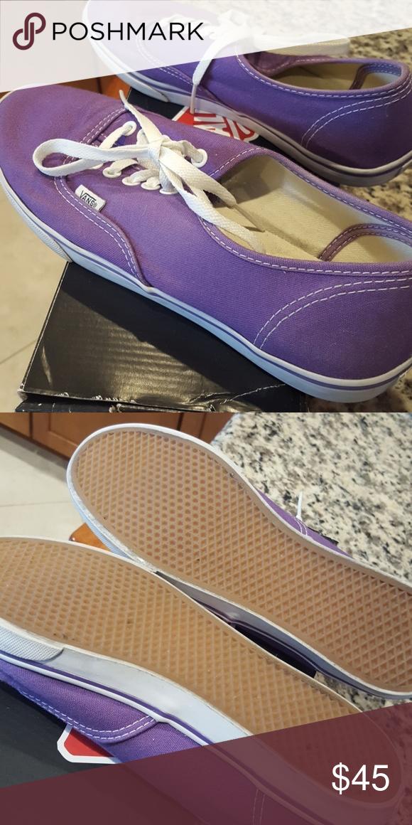 3a1891684e2121 Purple Vans Size 8 men s  women s 9.5 barely worn Vans Shoes Sneakers