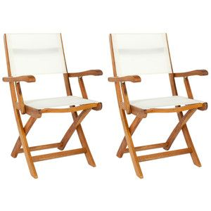 banji folding arm chair pair now featured on fab furniture