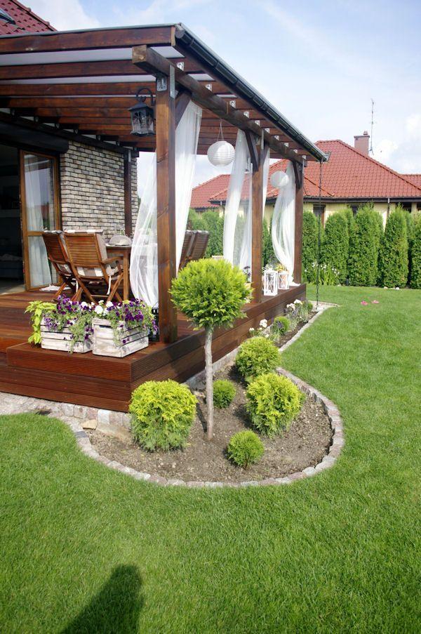 Um eine schöne und gemütliche Terrasse zu dekorieren, ...  #dekorieren #gemutliche #schone #t... #pergolapatio