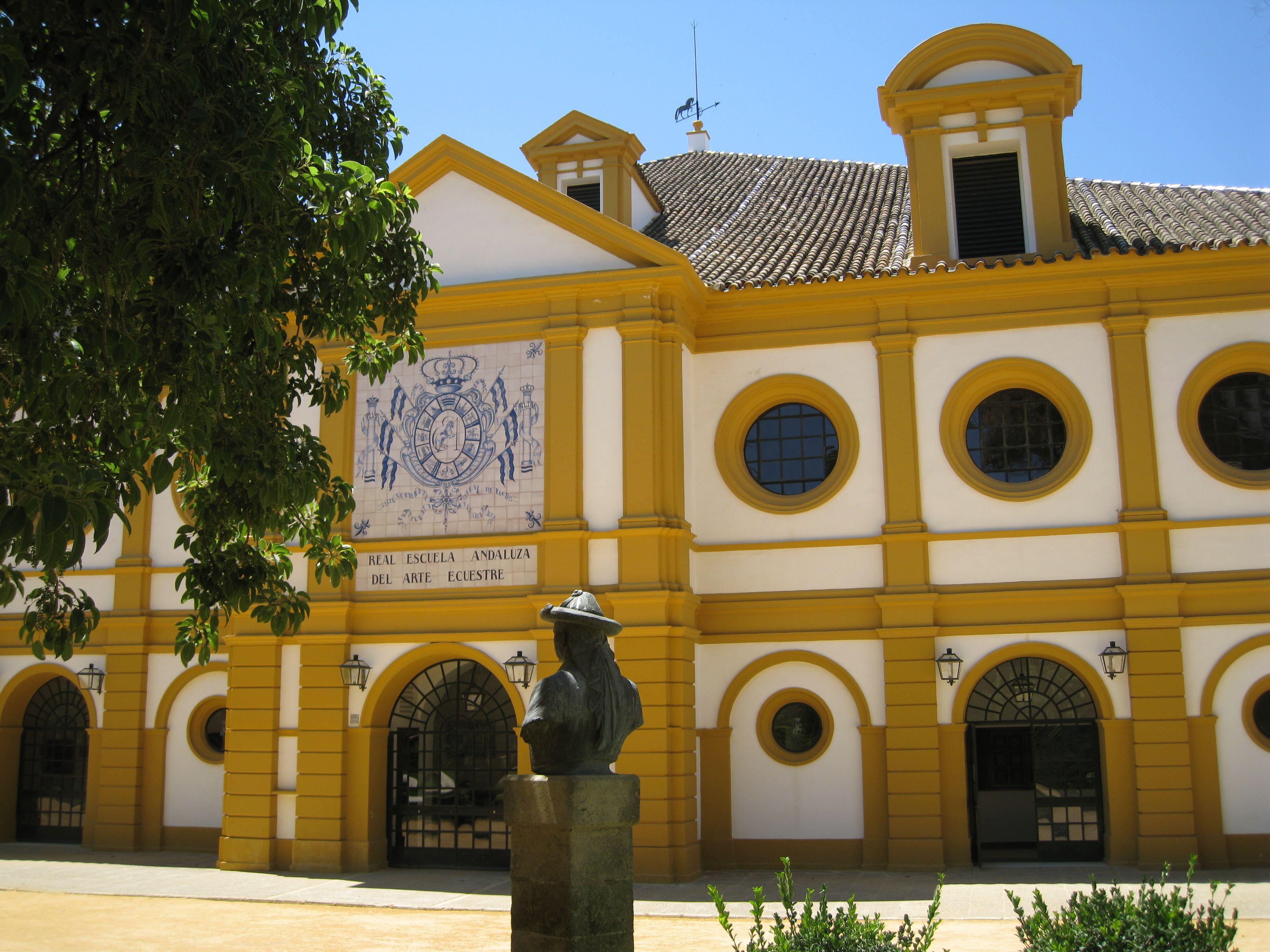 Real Escuela Andaluza Del Arte Ecuestre Jerez De La Frontera Arte Ecuestre Cádiz Andalucía