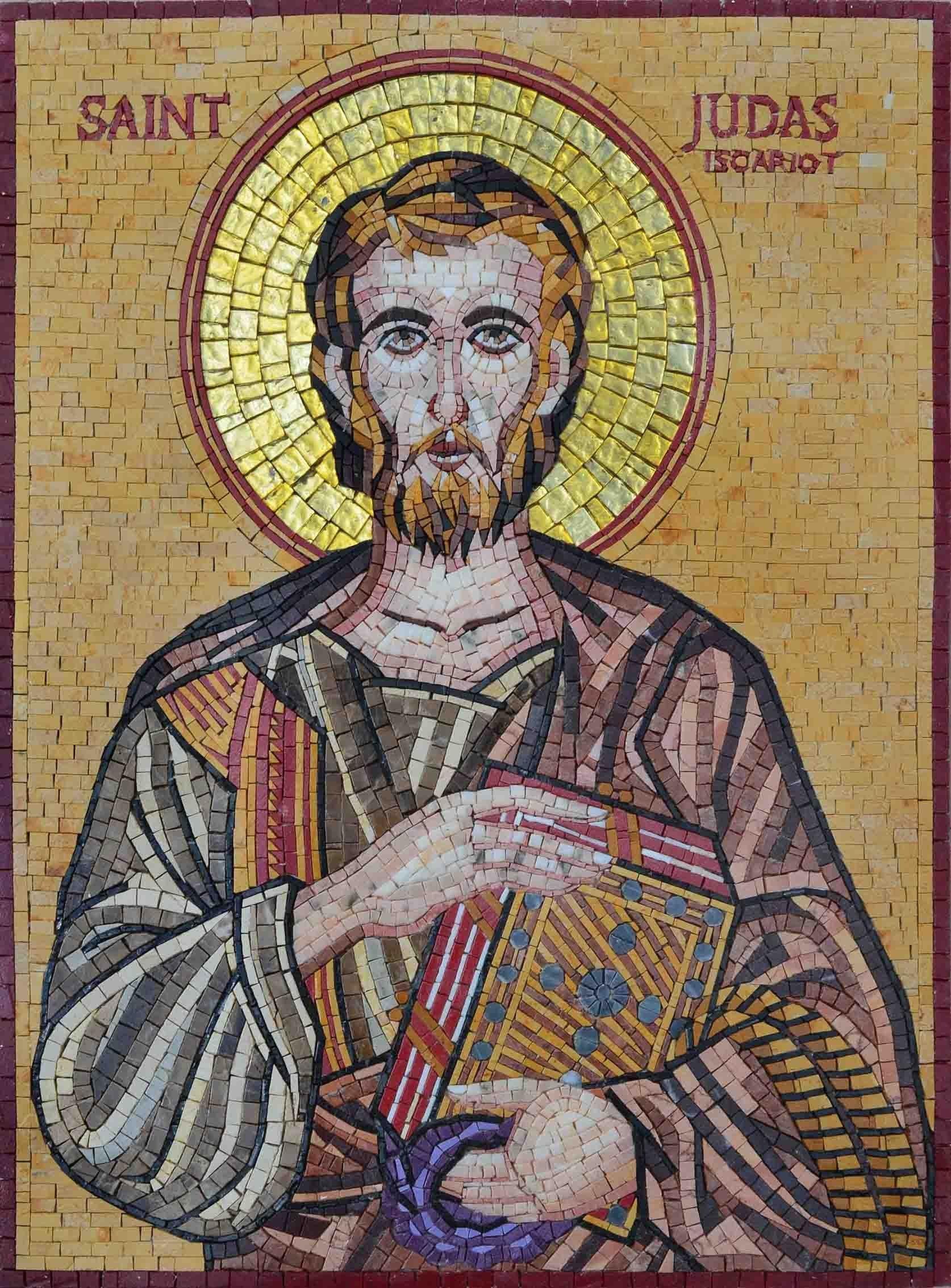 Mosaic Icon St Judas Iscariot Com Imagens