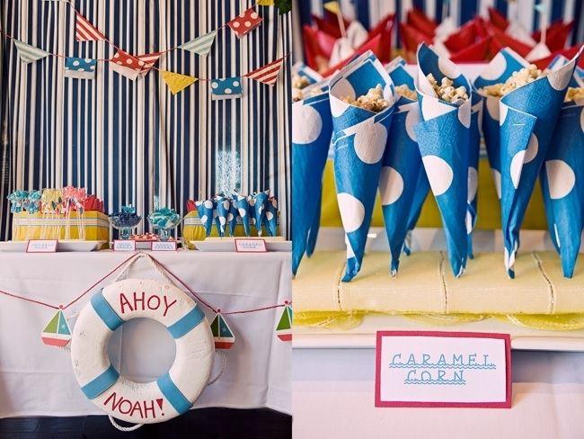 Nautical Party Theme Ideas Part - 47: 24 First Birthday Party Ideas U0026 Themes For Boys