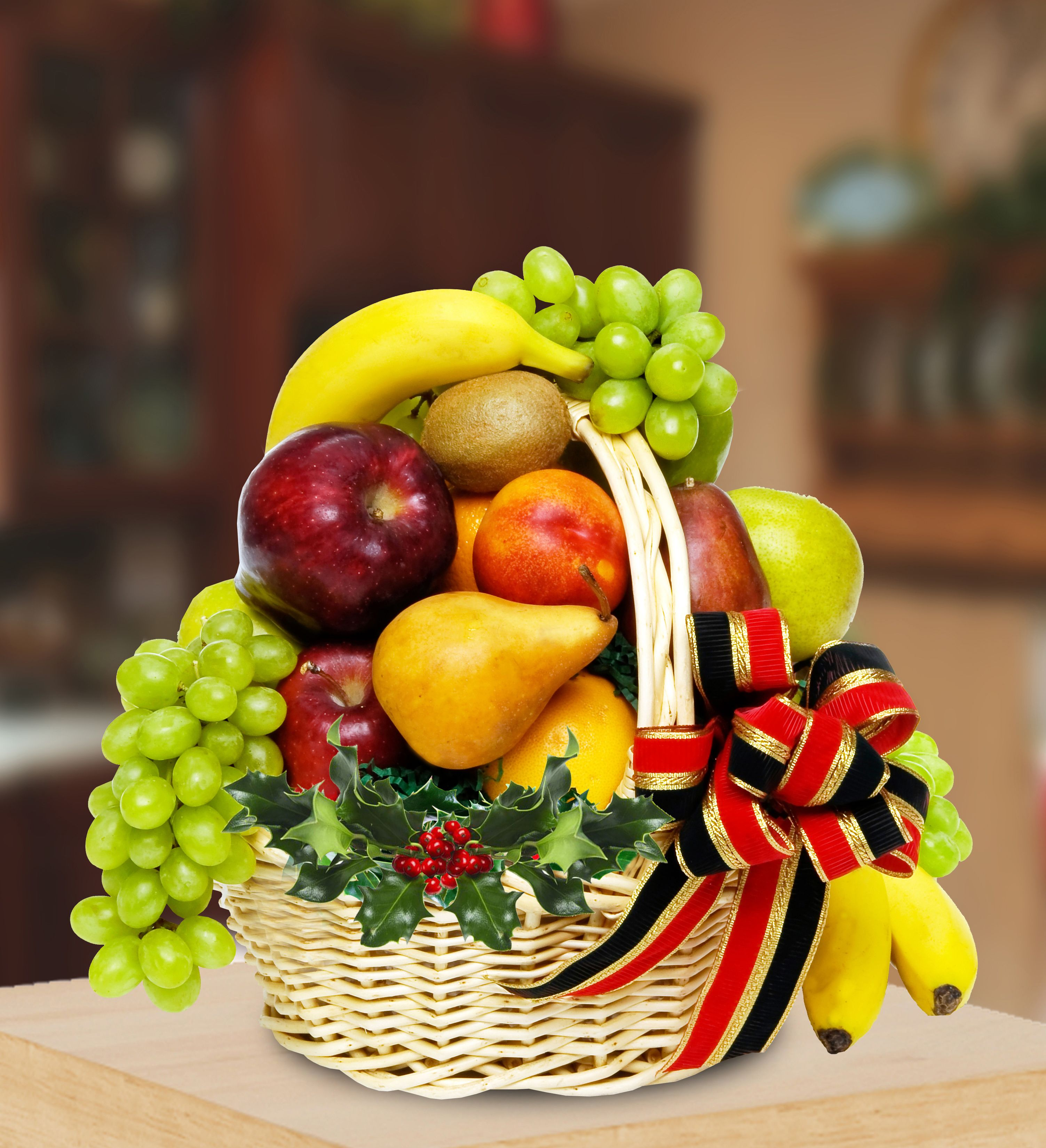 Hoogasian Flowers Holiday Fruit Healthy Fruits Fruit Basket Gift