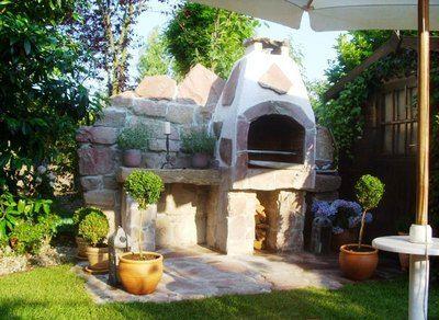 grillplatz im kleinen garten – spinjo, Garten ideen