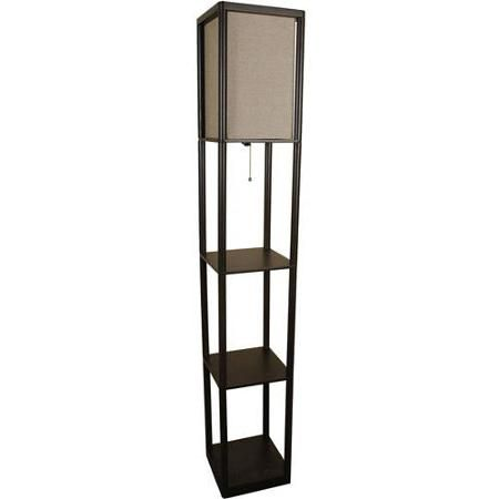 Mainstays Shelf Floor Lamp With Shade Interior Design