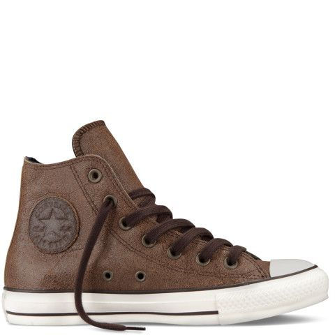 Chuck Taylor Leather Side Zip - Converse - gift for Josh