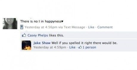 Der er ingen I i happyness
