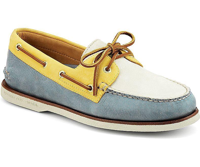 Shop Men's Gold Cup Authentic Original 2 Eye Boat Shoes