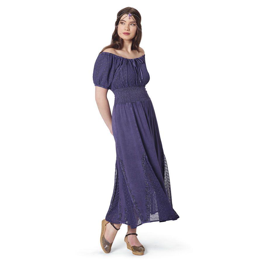 Sexy Peasant Dress