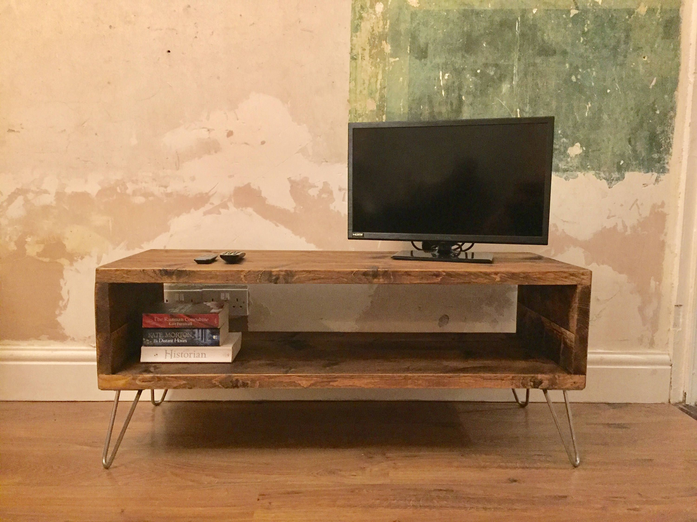 TV Unit, Rustic TV Cabinet, Industrial TV Unit, Wooden Tv Cabinet, Wooden