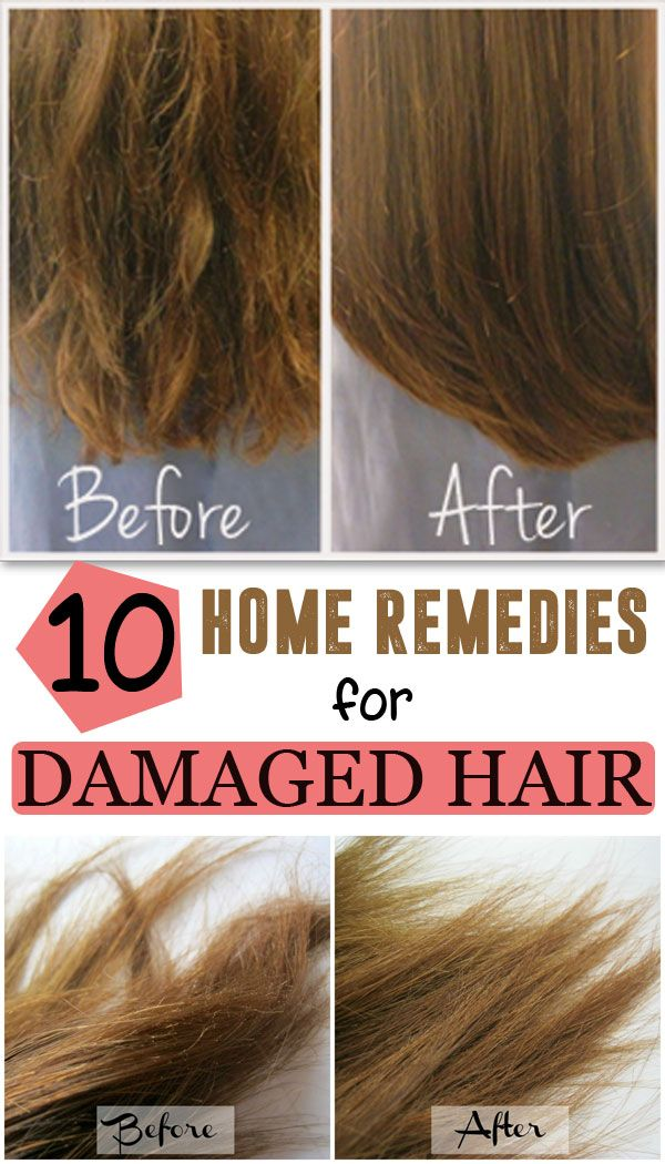 Your hair can damaged for a variety of reasons