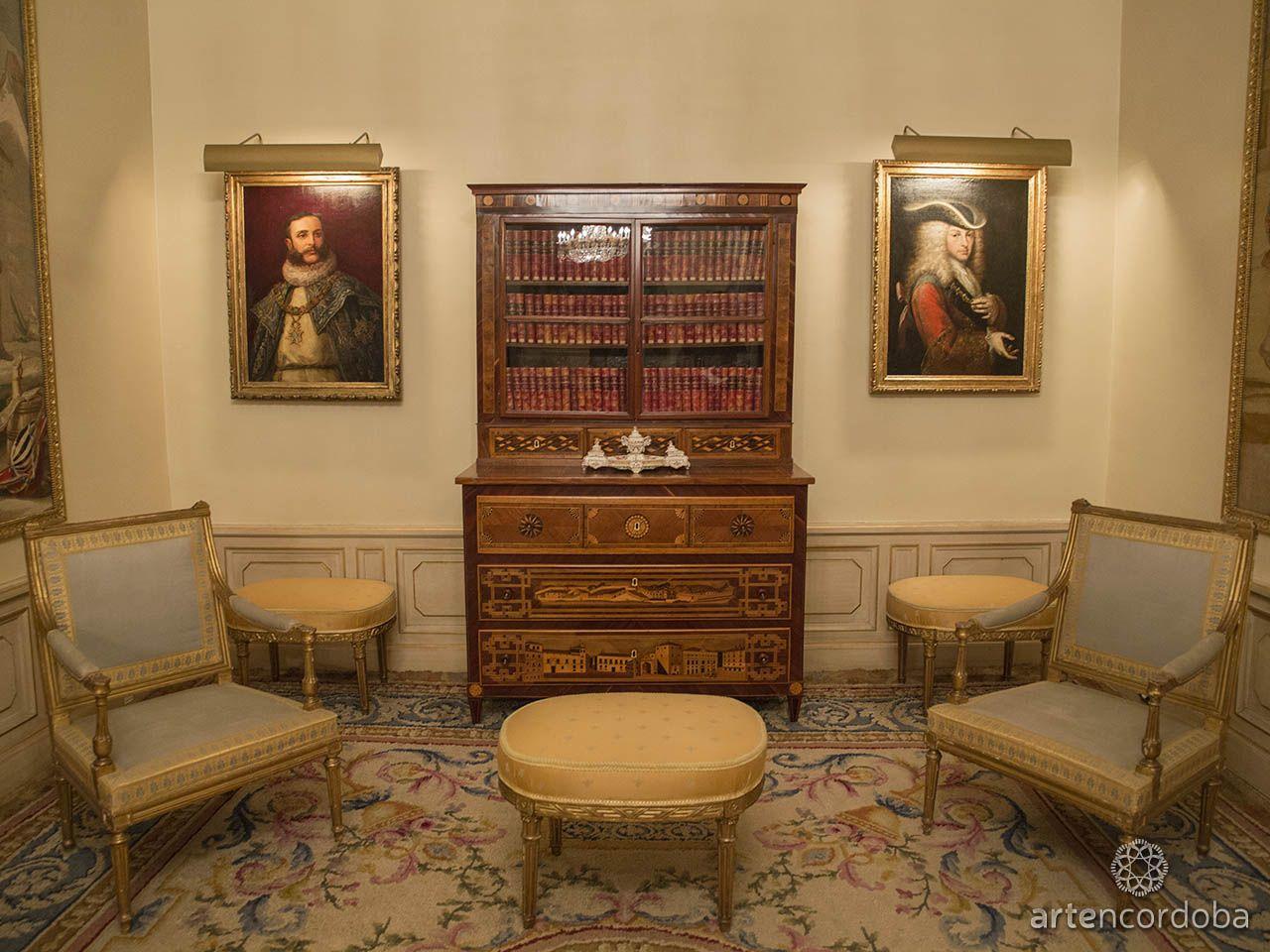 Muebles Viana : Palacio de viana retratos anónimos alfonso xii y