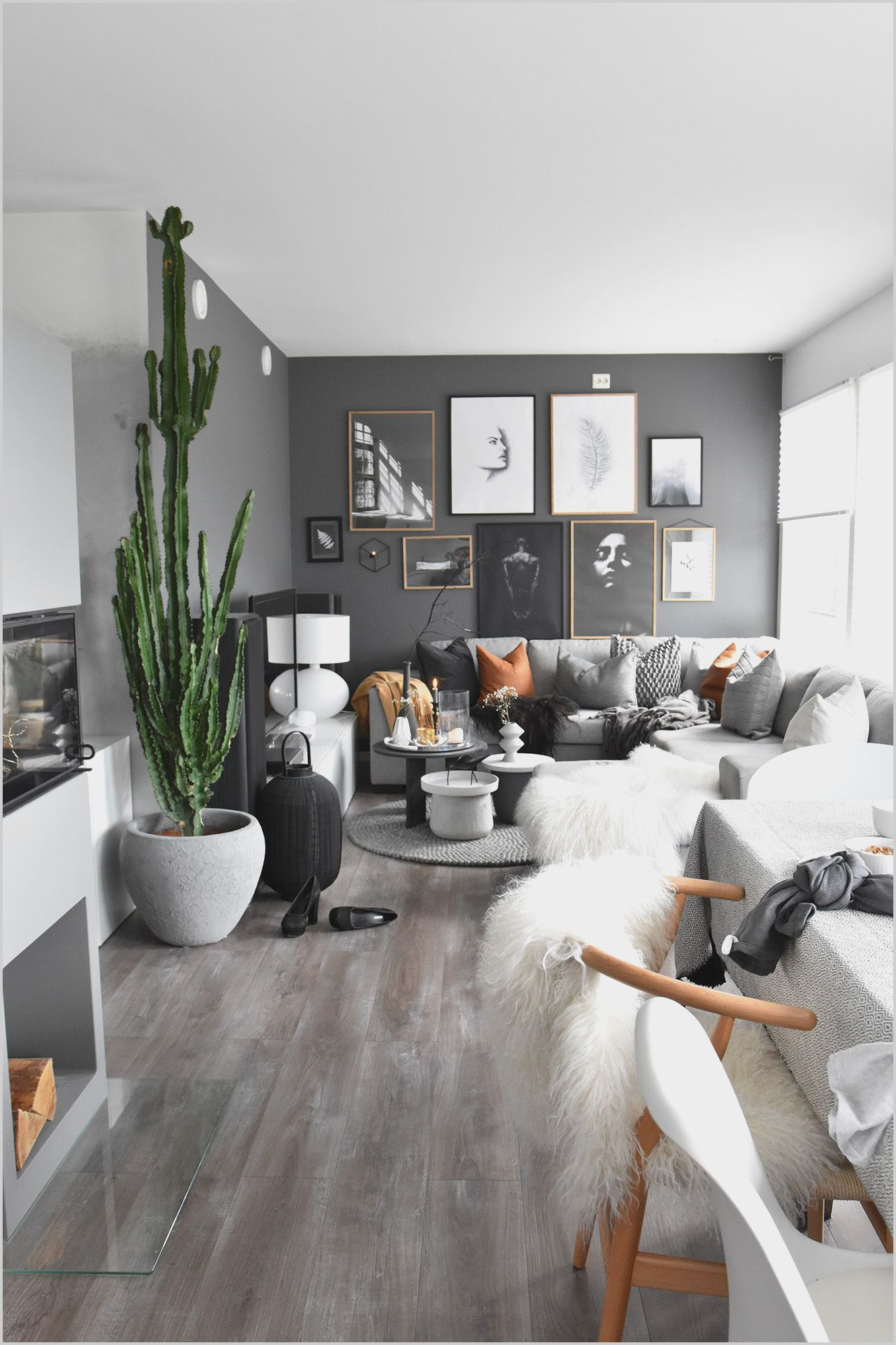Living Room Decor With Light Gray Walls Modern Grey Living Room Black Living Room Decor Black Walls Living Room