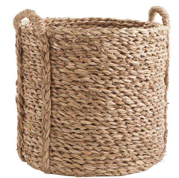 Large Woven Seagr Basket Wisteria 79 00 Domino