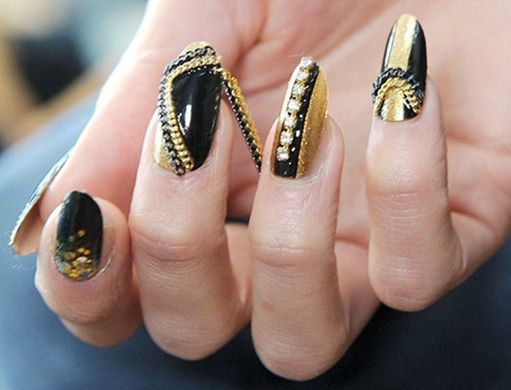 fashion-2013-new-nail-trends   myFav NAILS   Pinterest   Nail trends