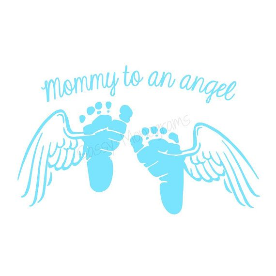 Angel Baby Memorial Decal | Mommy OR Daddy To An Angel ...