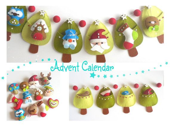 Christmas Advent Calendar PDF von LittleThingsToShare auf Etsy ...