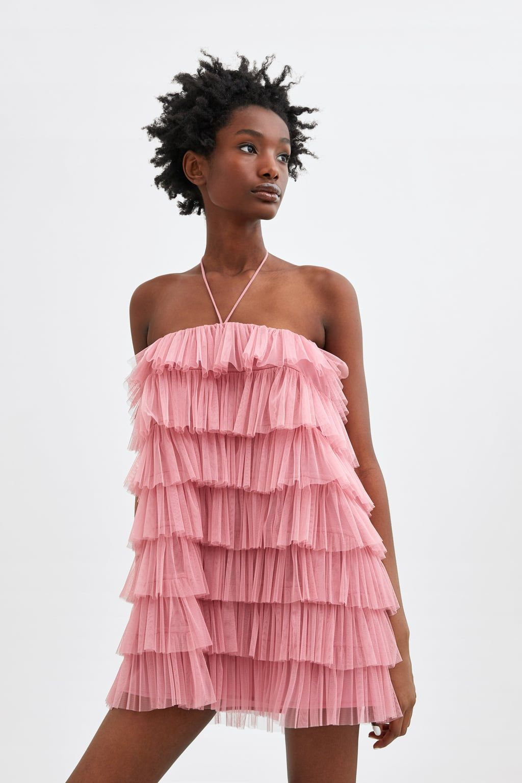 b2e7a6ffdd656 Limited edition ruffled tulle dress in 2019 | Pretty things | Tulle ...