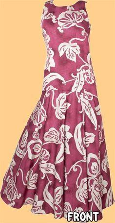 Hula Dress Patterns