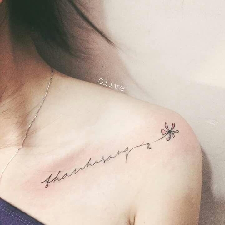Pin by shadit mendez santos on tatuajes pinterest mini for Feminine collar bone tattoos