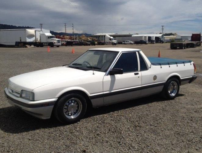 Only One In The Us 1988 Ford Falcon Xf Ute Ford Falcon Ute Ford