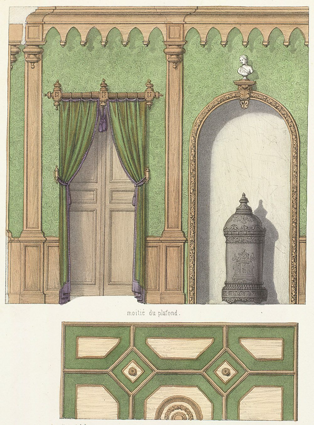Plate number: L. 46 Pl. 128 Type: Floor Plans : Interior Elevations ...