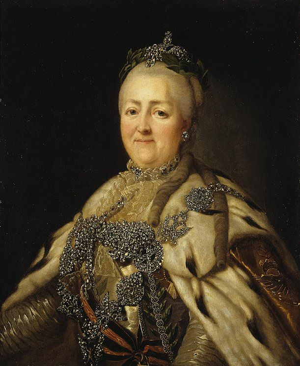 Portrait Of Empress Catherine The Great Catherine The Great Catherine Ii Russian History