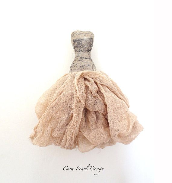 Hand made Fairytale Paper Dress  Mixed media by CoraPearlDesign