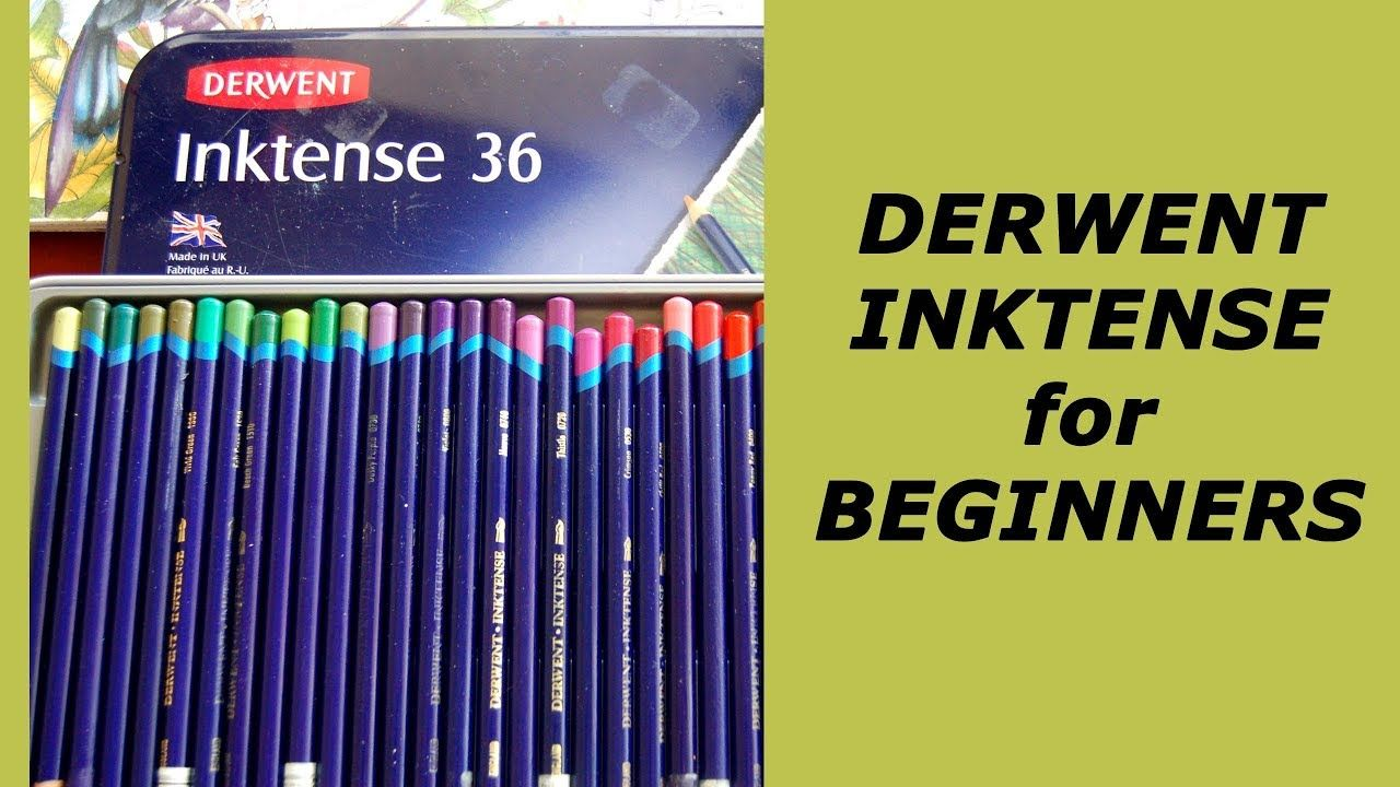 Derwent Inktense Pencils Advices For Beginners Adultcoloring